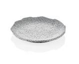 43028GG Тарілка сіра Granite NORMA Ø 28 см.