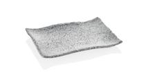 30034GG Тарілка прямокутна сіра Granite  34,1 x 23,6 x 3,3 см.