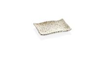 30019WG Тарілка прямокутна біла Granite  18,5 x 13,1 x 2,2 см.