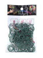 Резинки для плетения браслетов серые 200шт