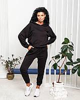 Жіночий спортивний прогулянковий костюм брюки і худі з капюшоном 022/01, фото 1