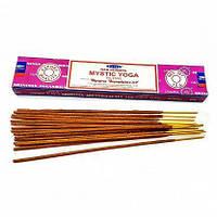 Аромапалочки Мистическая йога Mistic Yoga масала благовоние для медитации