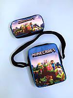 Набор сумка-планшет с пеналом Майнкрафт Minecraft