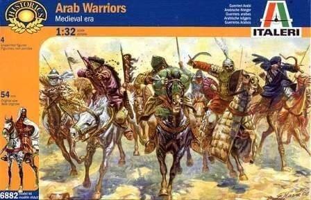 Italeri 1/32 Arab Warriors, фото 2
