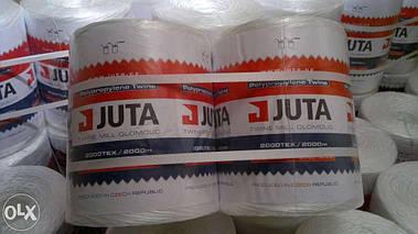 Шпагат сеновязальный Юта  - JUTA 500 Польша, для тюковки сена и соломы; 90кг на разрыв, 2000м/бухта