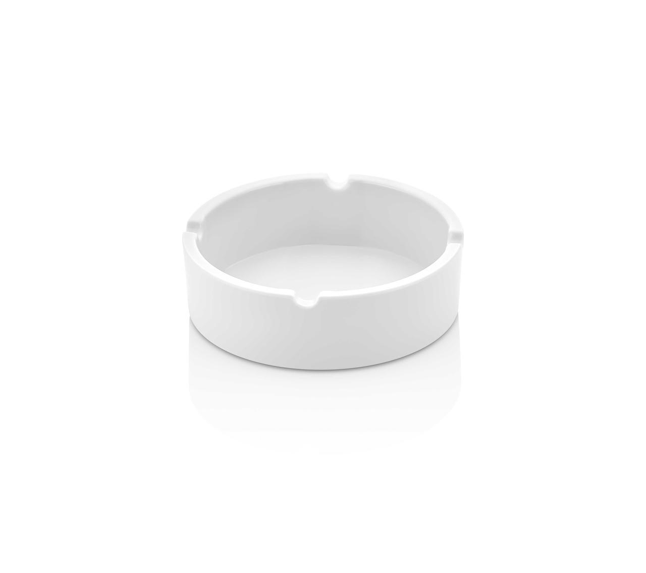 1610AW Попільничка кругла белая Ø 10 см. h.3,5 см.