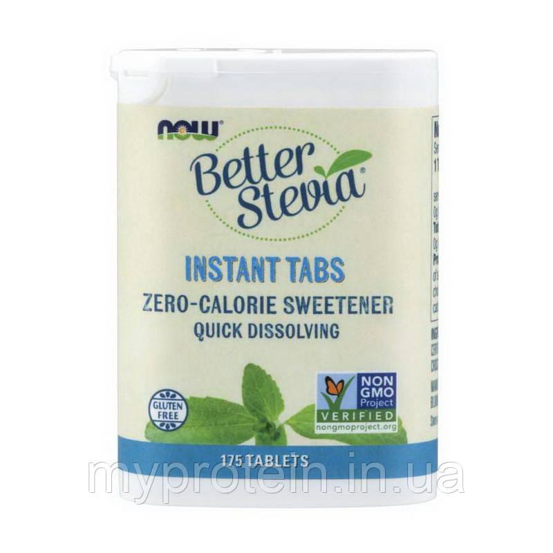 NOW Замінник харчування стевиа Better Stevia instant tabs (175 tab)