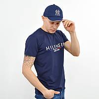 Мужская футболка Tommy Hilfiger (реплика) синий