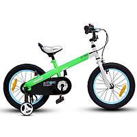 """Детский велосипед Royal Baby Buttons 16"""" зеленый"""