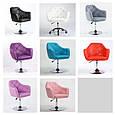 Кресло -стул визажный , барный код 500 кожзам  цвет на выбор., фото 4