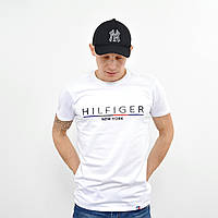 Мужская футболка Tommy Hilfiger (реплика) белый