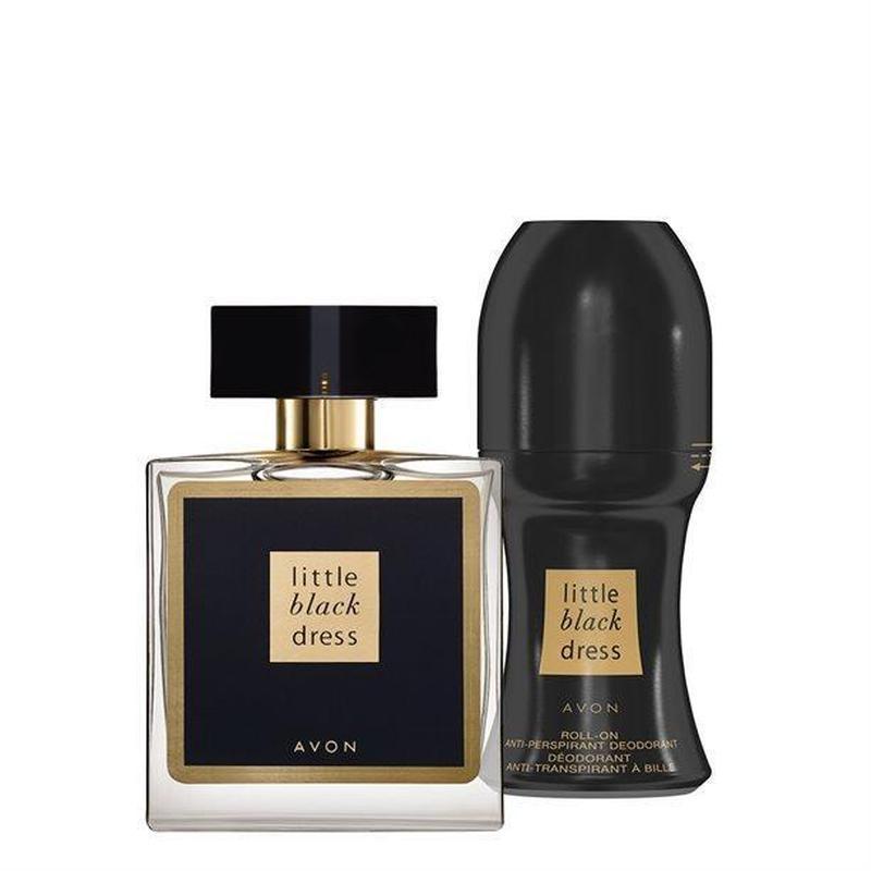 Набор Little black Dress для нее парфюмерная вода и антиперспирант