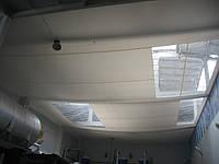 Подвесной потолок для сохранения тепла в цеху