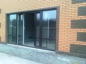 Розсувні вікна та двері REHAU, фото 2