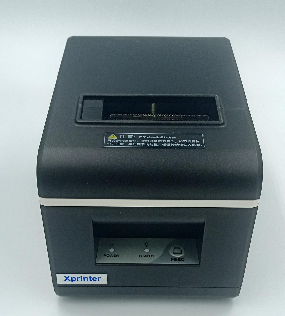 Чековый принтер Xprinter XP-Q90 EC USB интерфейс с автообрезкой 58мм
