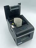Чековый принтер Xprinter XP-Q90 EC USB интерфейс с автообрезкой 58мм, фото 5