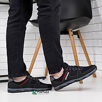 Кроссовки мужские сетка чорние, фото 2