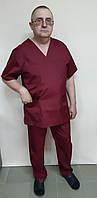 Костюм хірурга чоловічий сорочкова тканина