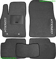 Коврики ворсовые  на Lada(Ваз) 2110-12 серые