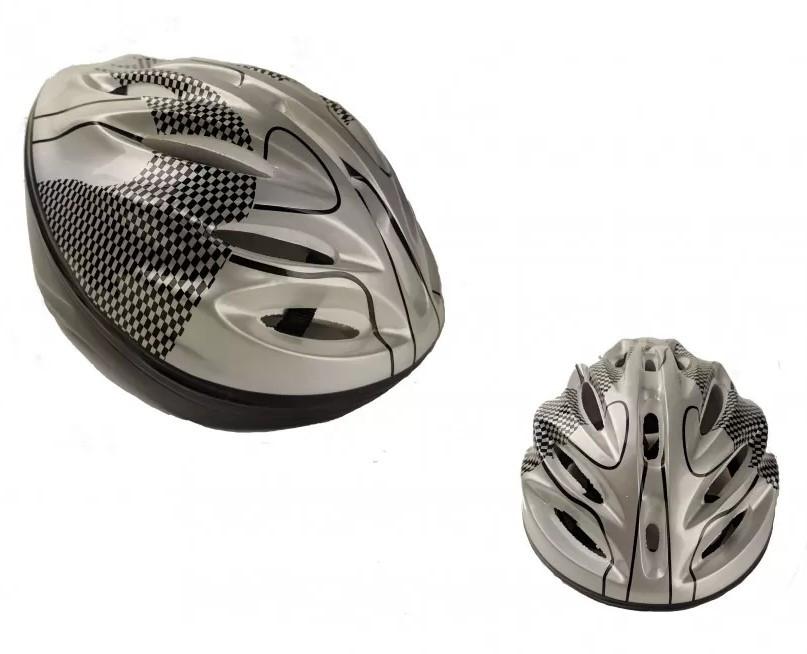 Захисний шолом для катання на роликах MS 0033 Сірий