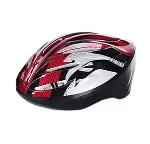 Защитный шлем для катания на роликах MS 0033 Красный