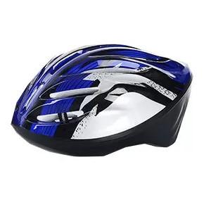 Защитный шлем для катания на роликах MS 0033 Синий
