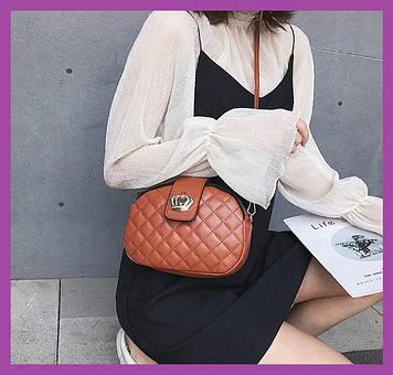 Женская мини сумочка клатч MINI, Женские мини сумки, Мини-сумочка коричневая на плечо, Маленькие женские сумки