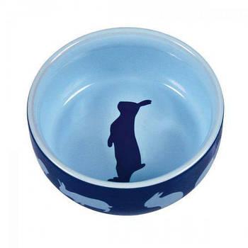 Миска для кролика керамика 250мл/11см