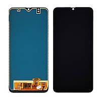 Дисплей (lcd экран) для Samsung A305/A505/A507Galaxy A30/A50/A50S (2019) с чёрным тачскрином, с регулируемой