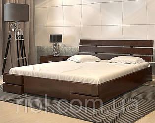 Ліжко дерев'яне двоспальне Дали Люкс