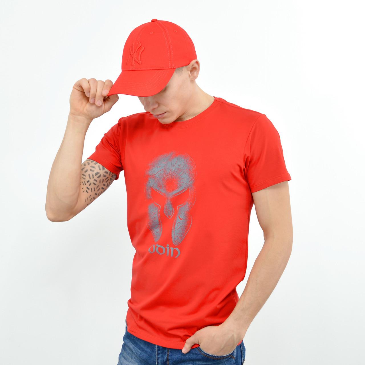 Чоловіча футболка ODIN червоний