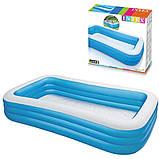 Детский надувной бассейн Intex 305x183x56 см большой семейный для дома и дачи, для детей и малышей 58484, фото 9