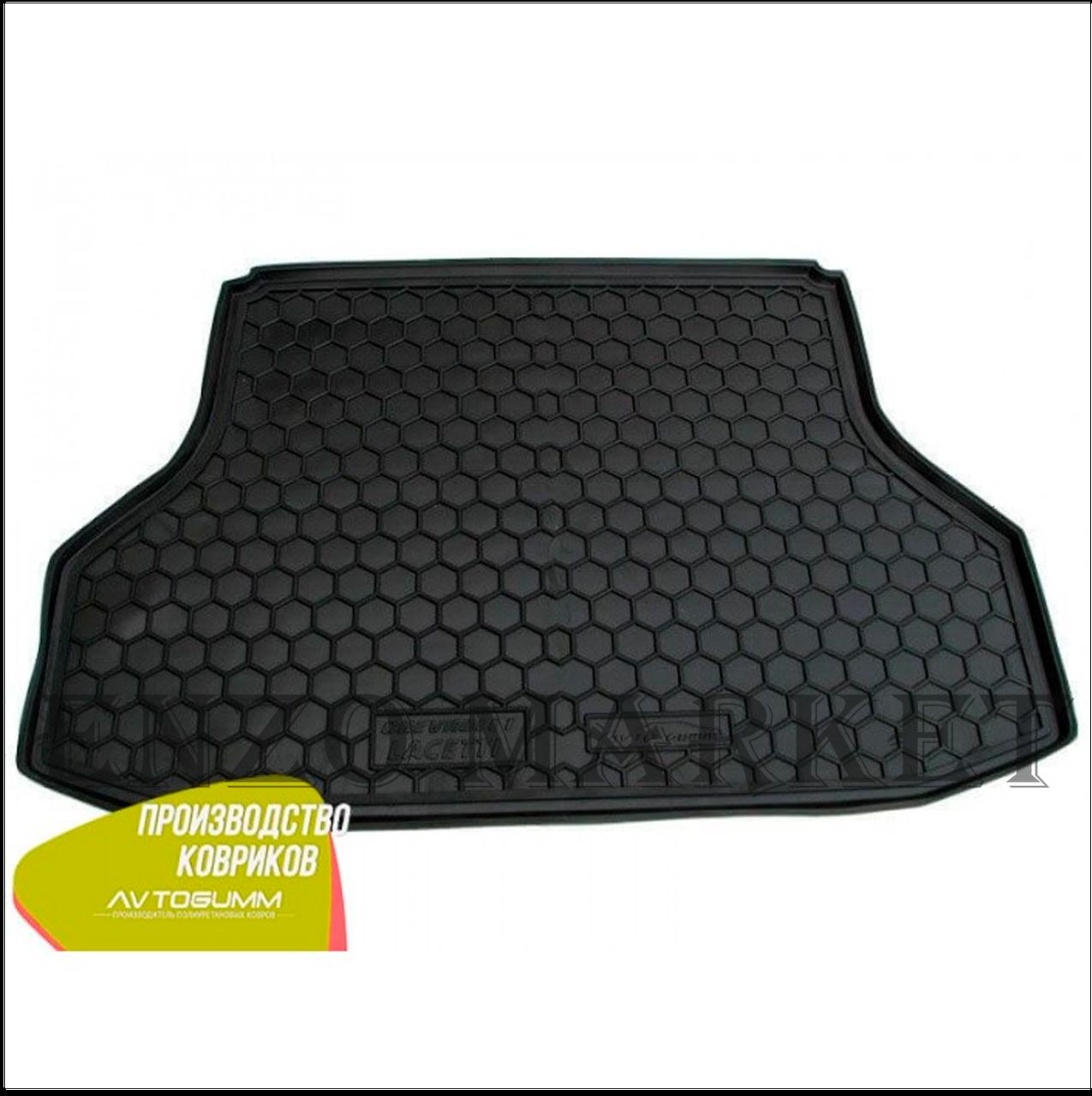 Автомобільний килимок в багажник Chevrolet Lacetti 2004 - Sedan (Avto-Gumm)