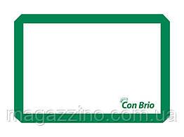 """Силиконовый коврик, """"ConBrio"""", 42 x 30см., зеленый"""