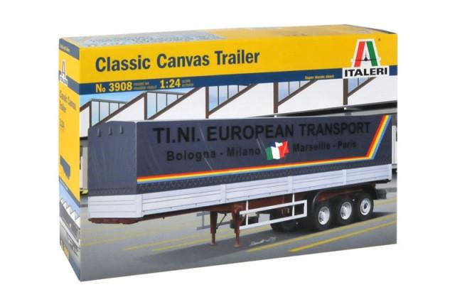 Italeri 1/24 Classic Canvas Trailer