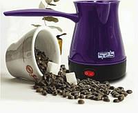 Турка для кофе автоматическая электрическая кофеварка для турецкого кофе DSP KA3027/KA3027A Фиолетовый