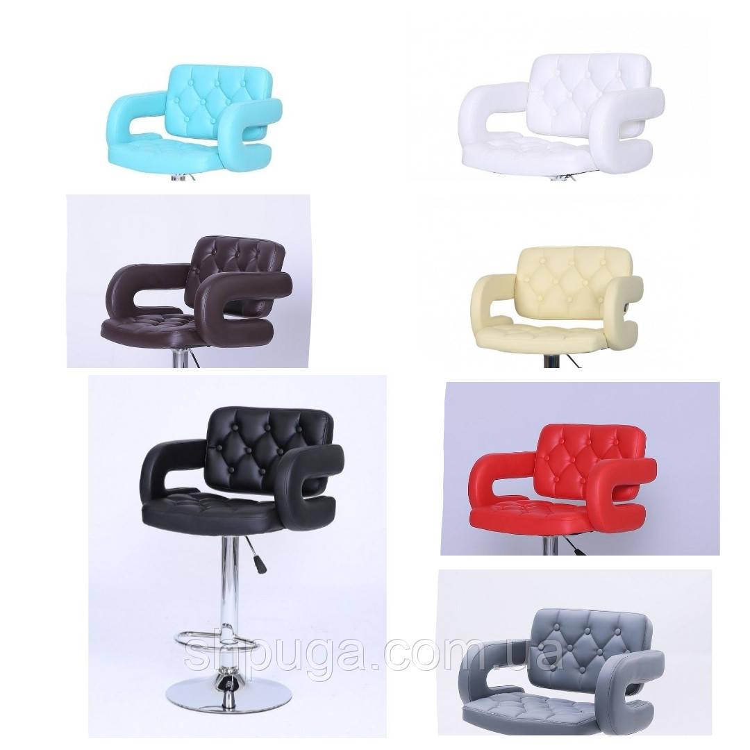 Кресло -стул  визажный , барный код 8403 кожзам  цвет на выбор.
