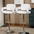 Кресло -стул  визажный , барный код 8403 кожзам  цвет на выбор., фото 8