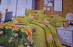 Комплект постельного белья Бязевый двуспальный ТМ ГлавТекстиль, фото 3