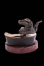 Статуэтка из бронзы «Олигарх» Vizuri (Визури) B05, фото 2