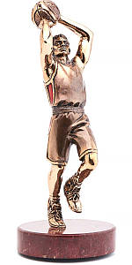 Статуэтка из бронзы «Баскетболист» Vizuri (Визури) S05