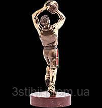 Статуэтка из бронзы «Баскетболист» Vizuri (Визури) S05, фото 2