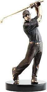 Статуэтка из бронзы Игрок в гольф Vizuri (Визури) S01
