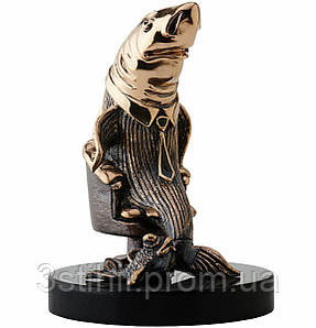Статуэтка из бронзы Акула Бизнеса Vizuri (Визури) B01