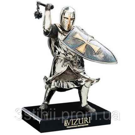 Статуэтка «Тевтонский рыцарь» cо щитом Vizuri (Визури) W03, фото 2