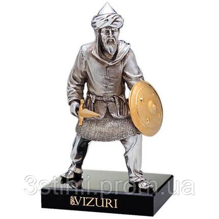 Статуэтка из бронзы «Сарацин» с мечом Vizuri (Визури) W05, фото 2