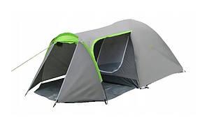 Палатка туристическая Presto Monsun 4 Pro, 3500 мм, серая
