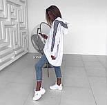 Модне худі жіноче Оверсайз, фото 3