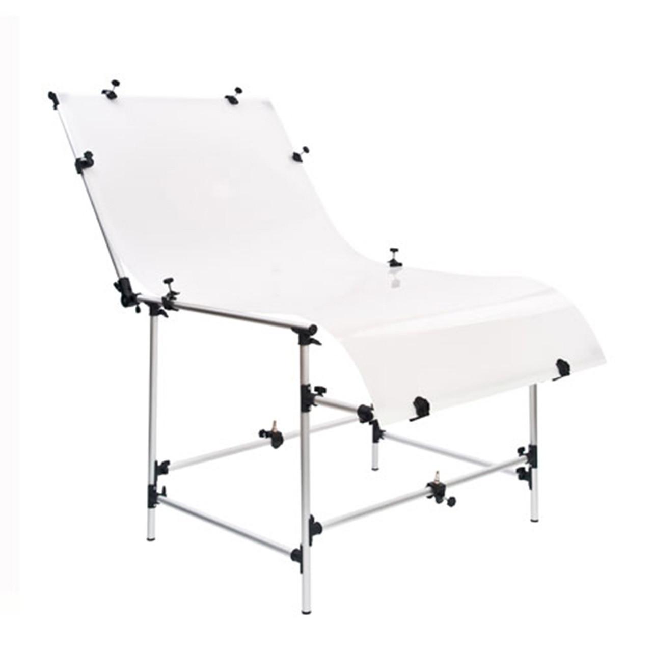 Предметный стол DNP PLST 1020 для предметной съемки 100*200см с чехлом
