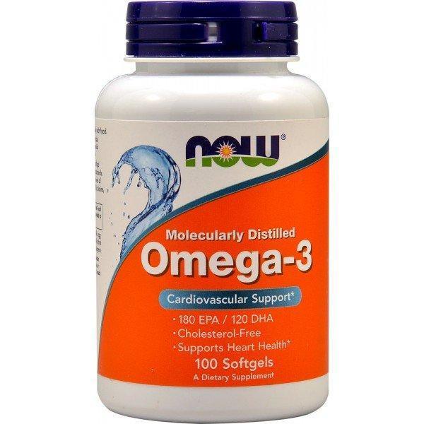 Рыбий жир NOW Omega 3 - 100 Softgels
